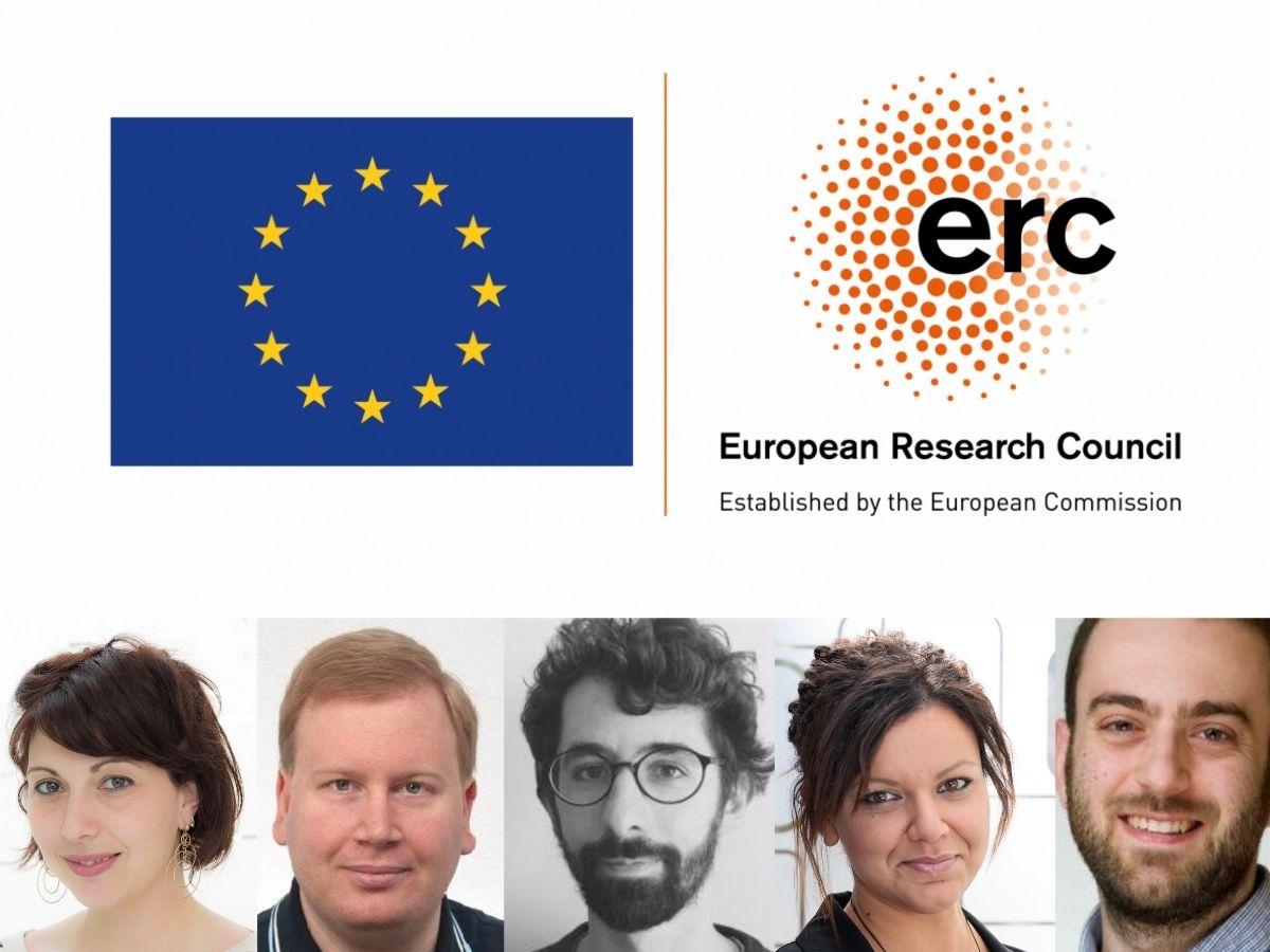I 5 giovani scienziati e scienziate IIT premiati da ERC - IITalk