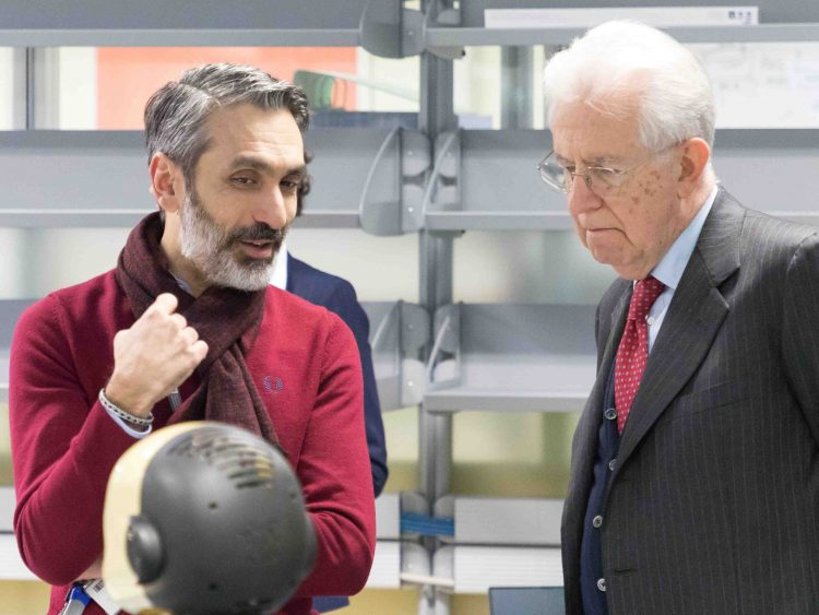 Giorgio Metta, iCub, Mario Monti