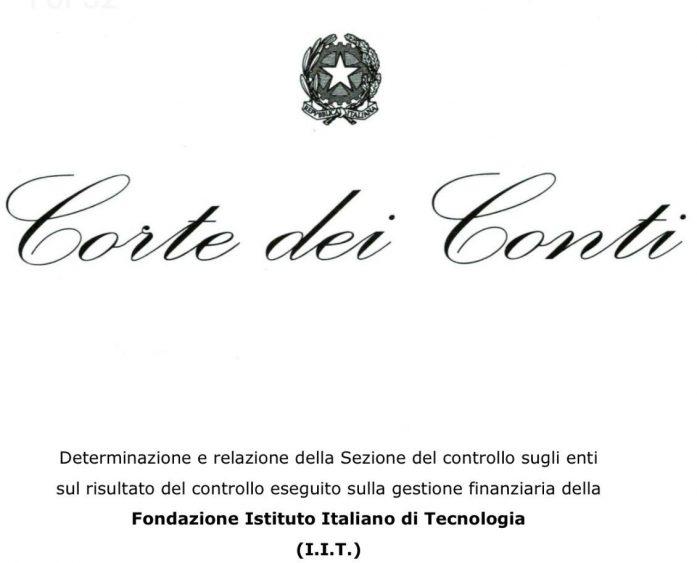 Corte dei Conti IIT