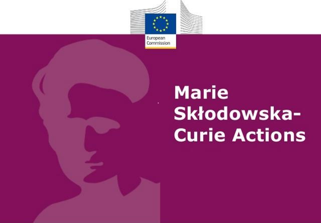 Marie Sklodowska Curie Actions logo testo